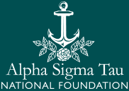 Alpha Sigma Tau National Foundation logo
