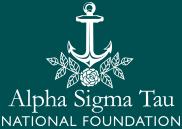 Alpha Sigma Tau National Foundation logo