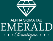 Alpha Sigma Tau Emerald Boutique logo