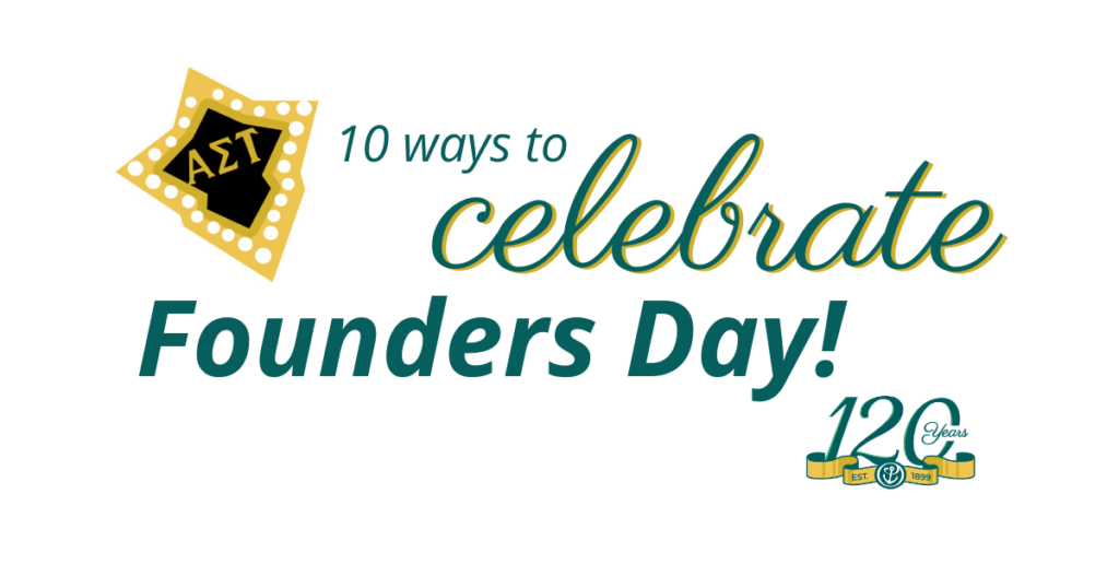 Let's Celebrate Founders Day!