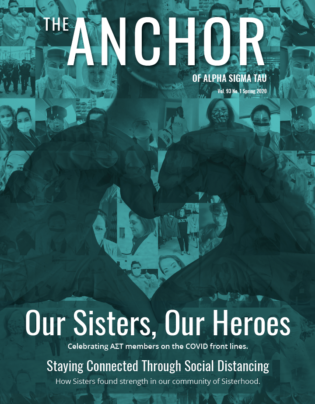 Cover of Spring 2020 issue of The Anchor